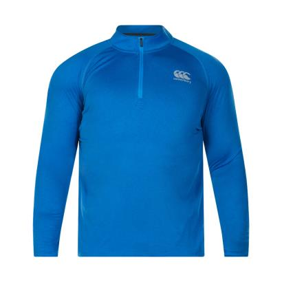 Canterbury Vapodri First Layer Top Brilliant Blue Marl - Front