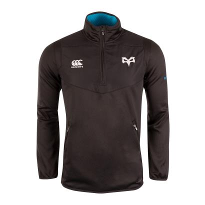 Ospreys Thermoreg Quarter Zip Top Anthracite 2019 - Front