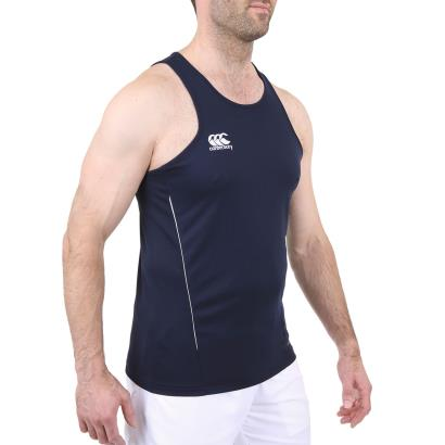 Canterbury Teamwear Team Dry Singlet Navy model