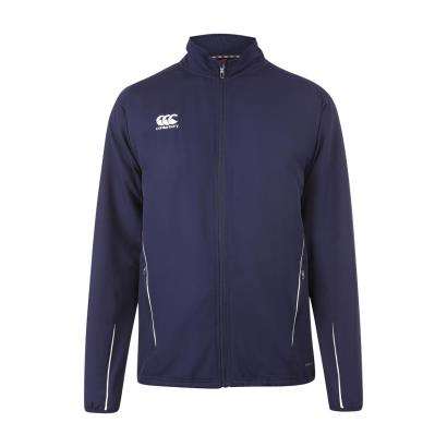 Canterbury Teamwear Team Track Jacket Navy Kids - Front