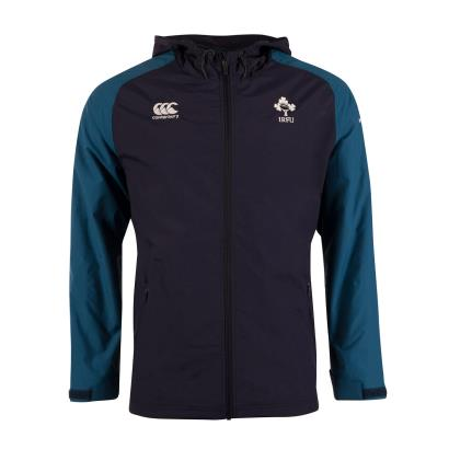 Ireland Vaposhield Full Zip Rain Jacket Navy Blazer 2019 - Front