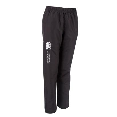 Canterbury Ladies Open Hem Stadium Pants Black - Front 1