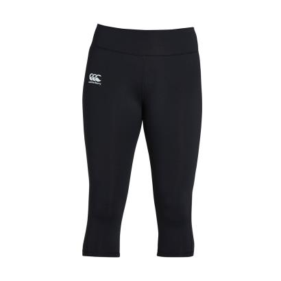 Canterbury Ladies Vapodri Capri Tights Jet Black - Front