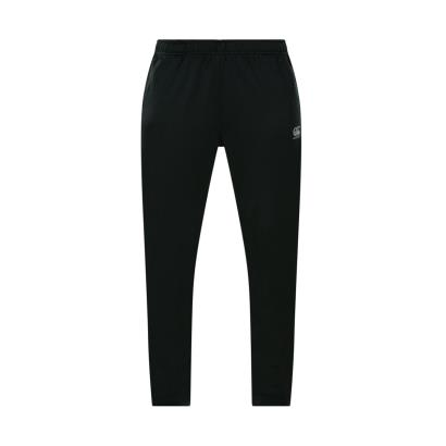 e2271919477 Womens Jet Black Canterbury Tapered Poly Knit Pants