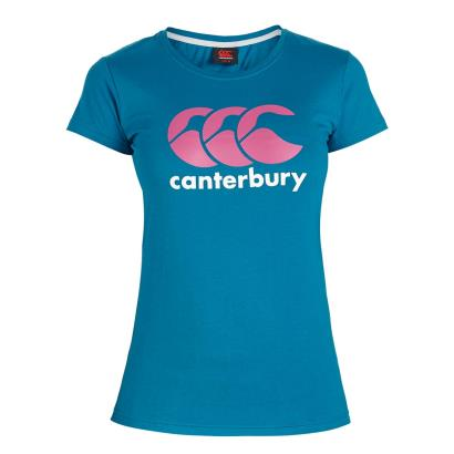 Canterbury Ladies Classic Tee Turkish Teal - Front