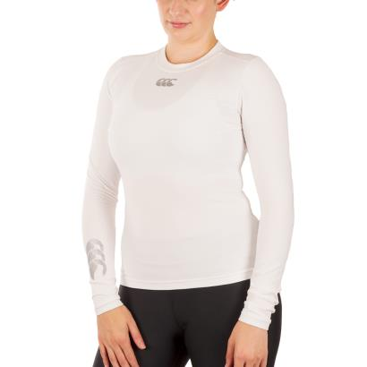 Canterbury Ladies Thermoreg Baslayer L/S Cold Top White - Model1
