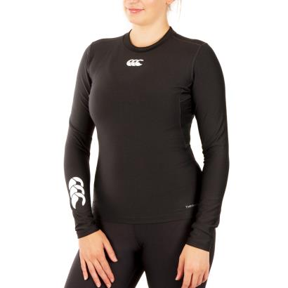 Canterbury Ladies Thermoreg Baslayer L/S Cold Top Black - Model1
