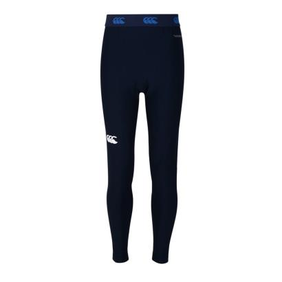 Canterbury Thermoreg Baselayer Cold Leggings Navy Kids - Front
