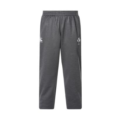 Ireland Off Field Tapered Fleece Pants Asphalt Marl Youths 2018 - Front
