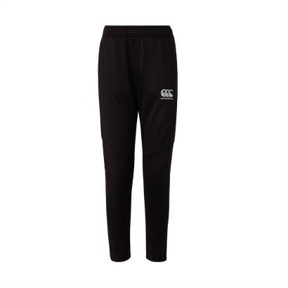 Canterbury Vapodri Poly Knit Pants Black Kids - Front