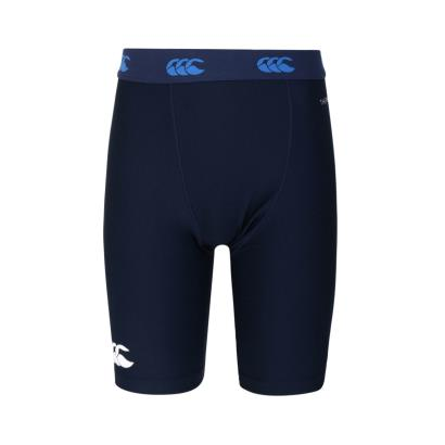 Canterbury Thermoreg Baselayer Cold Shorts Navy Kids - Front