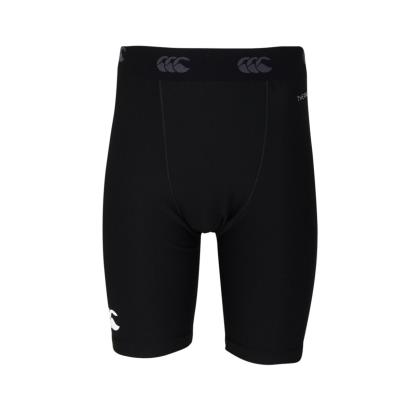 Canterbury Thermoreg Baselayer Cold Shorts Black Kids - Front