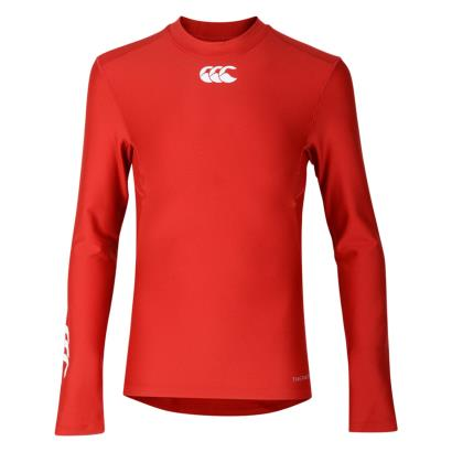 Canterbury Thermoreg Baselayer L/S Cold Top Flag Red Kids - Fron