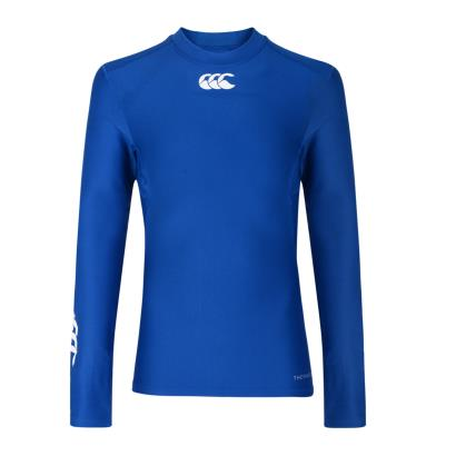 Canterbury Thermoreg Baselayer L/S Cold Top Olympian Blue Kids - Front