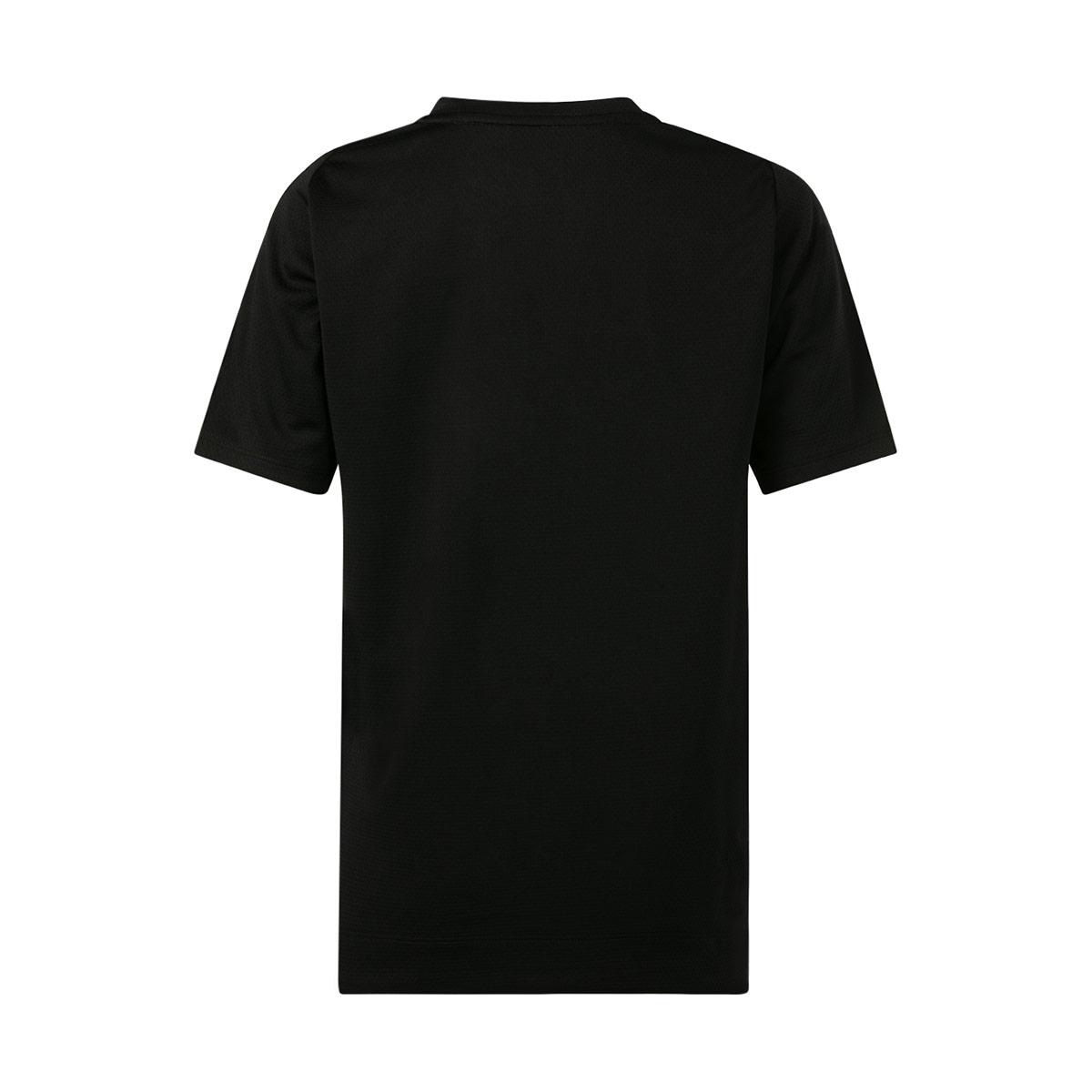 Kids Black Canterbury Vapodri Superlight Graphic Tee Shirt