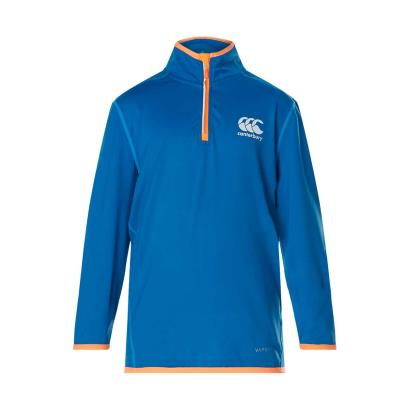 Canterbury Vapodri First Layer Top Snorkel Blue Youths - Front
