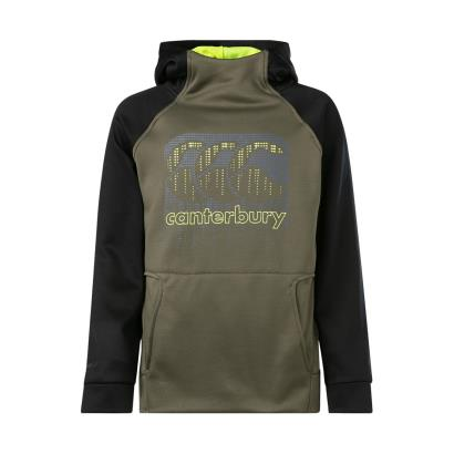Canterbury Vaposhield Pullover Hoodie Grape Leaf Kids - Front
