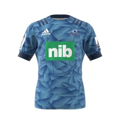 Super Rugby Blues Home Rugby Shirt S/S 2020 front