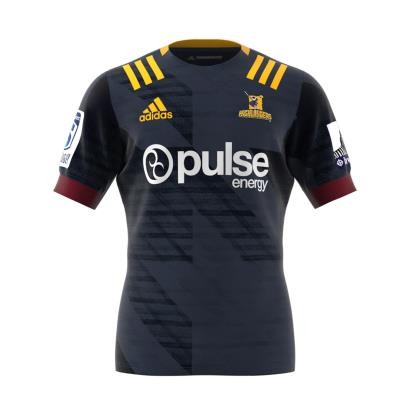 Super Rugby Highlanders Home Rugby Shirt S/S 2020 - Front