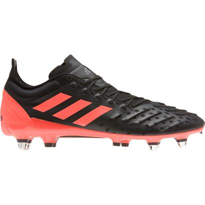 adidas Predator XP Rugby Boots Core Black - Side 1