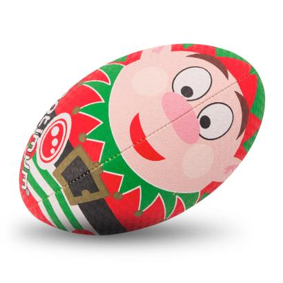 Optimum Christmas Collection Elf Rugby Ball - Front