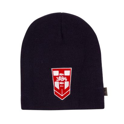 England Rugby League Beanie Navy 2018 - Front