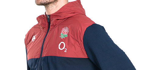 England Tops, Hoodies and Jackets Range
