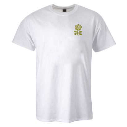 England Classic Cotton Tee White - Front