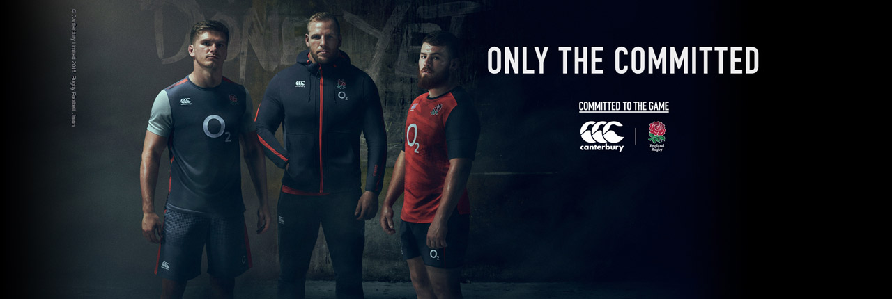 England 2017 Training & Leisure Wear Available now!