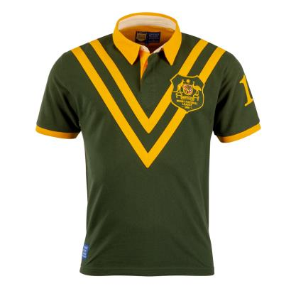 Vintage Australia 1968 Rugby League Polo Shirt - Front