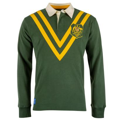 Vintage Australia 1968 Rugby League Jersey - Front