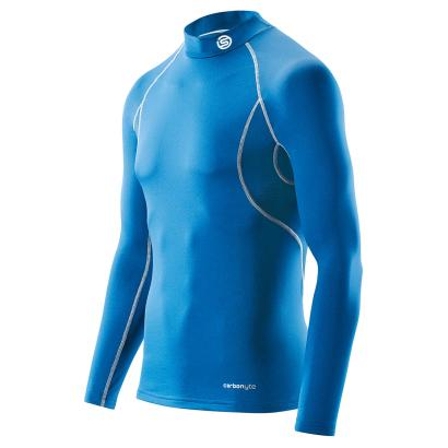 Skins Carbonyte Thermal Mock Neck L/S Royal - Front