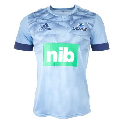 Super Rugby Blues Performance Tee 2020 - Front