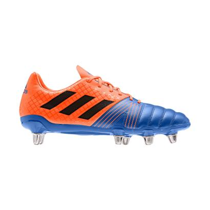 adidas Kakari Rugby Boots Blue - Side