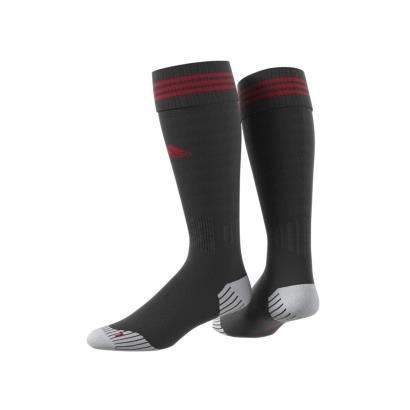 adidas adiSock 18 Rugby Socks Black/Red - Front