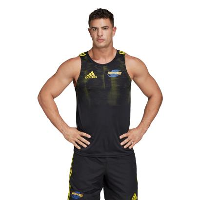 Super Rugby Hurricanes Performance Singlet 2020 model 1