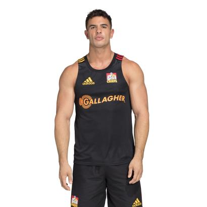 Super Rugby Chiefs Performance Singlet 2020 model 1