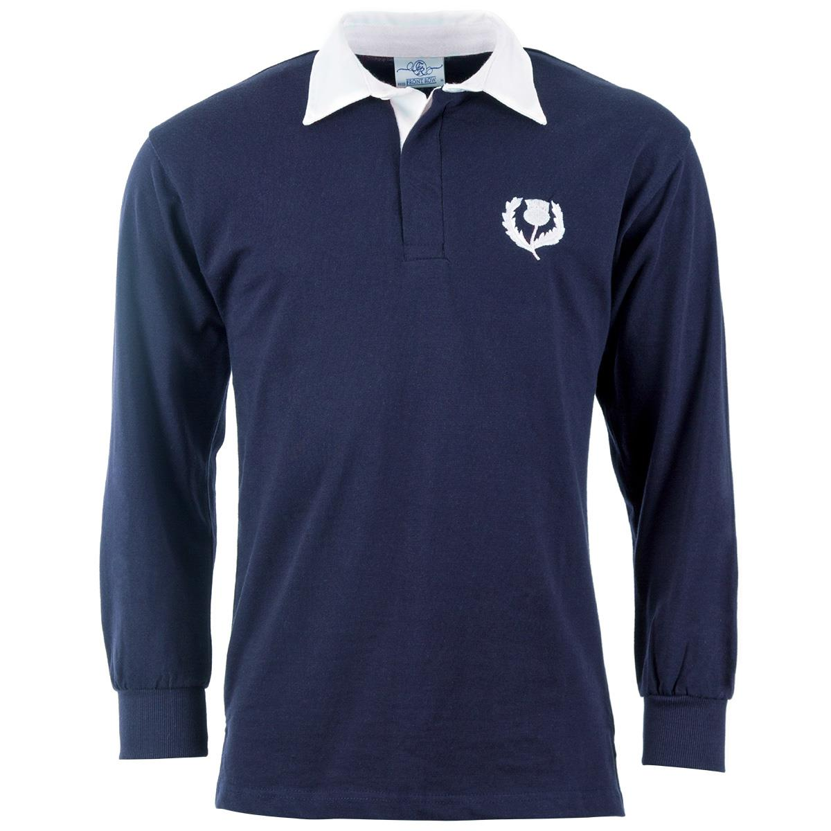 Mens Scotland Classic Rugby Shirt Long Sleeved Rugbystore