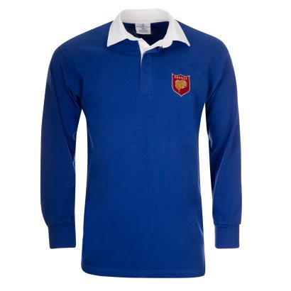 France Classic Rugby Shirt L/S - Front