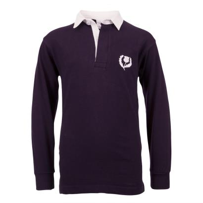 Scotland Classic Rugby Shirt L/S Kids - Front