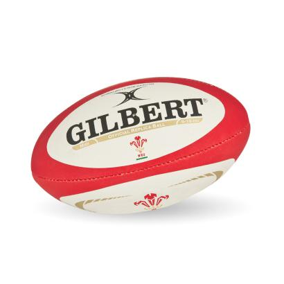 Gilbert Official Wales Midi Ball - Front