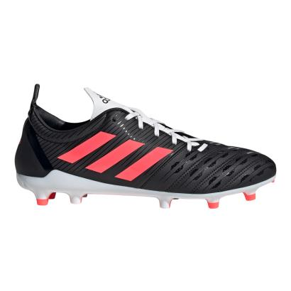 adidas Malice FG Rugby Boots Core Black - Side 1