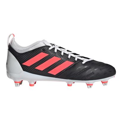 adidas Malice Elite Rugby Boots Core Black - Side 1