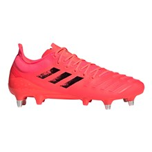 adidas Predator XP Rugby Boots Signal Pink - Side 1