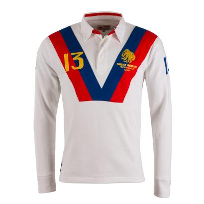 Great Britain Rugby League 1989 Rugby Shirt - Front