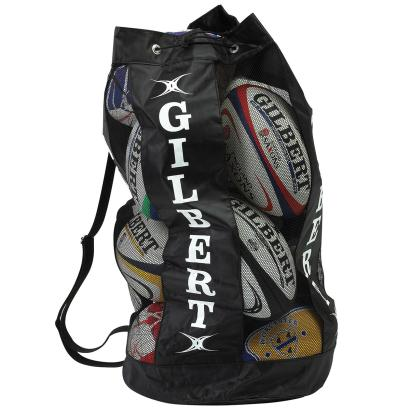Gilbert Breathable Ball Carry Bag Black front