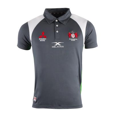 Gloucester Redfern Polo Charcoal 2018 - Front