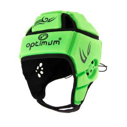 Optimum Hedweb Tribal Headguard Fluo Green - Front