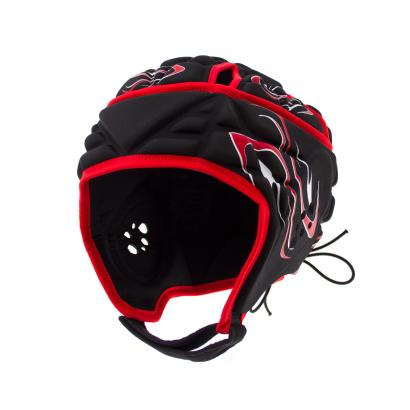 Optimum Inferno Headguard Black/Red - Front