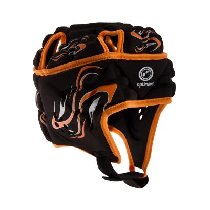 Optimum Inferno Headguard Black/Orange - Front